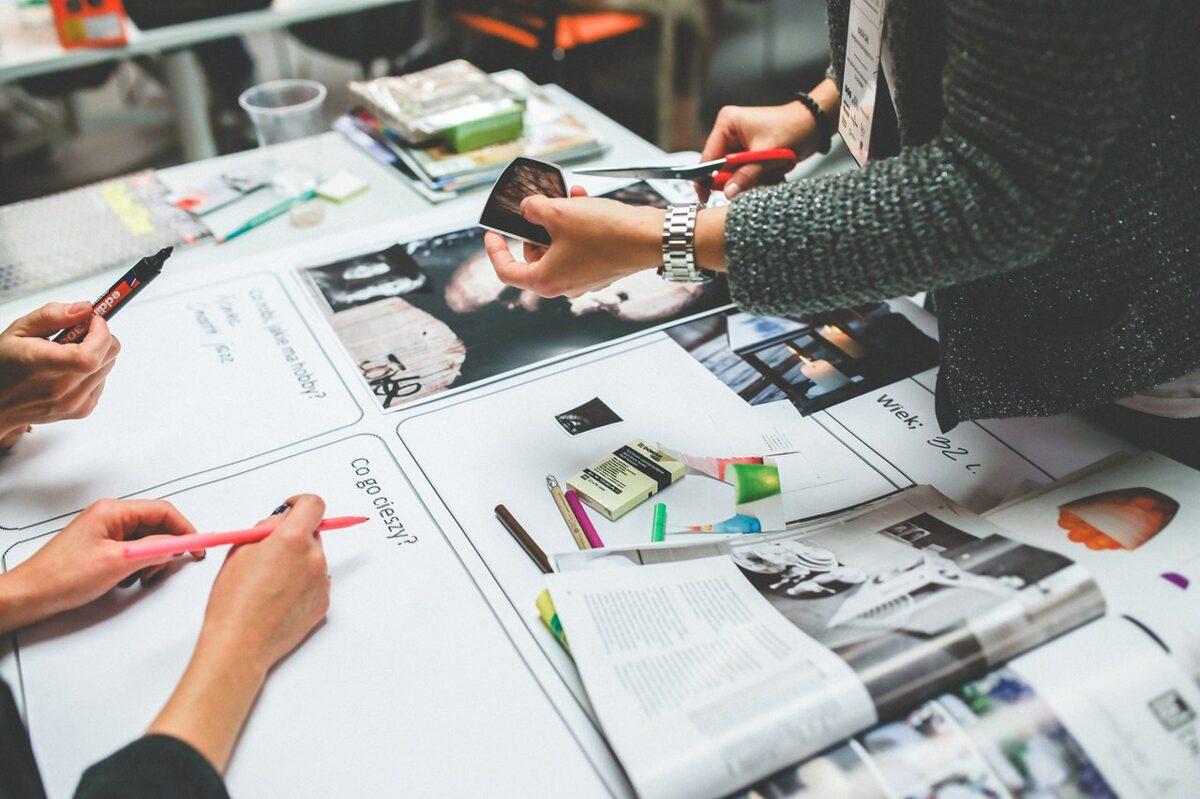 press graphic Design